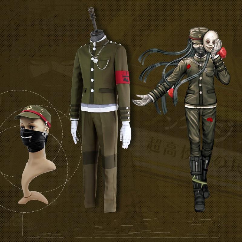 Danganronpa V3 Korekiyo Shinguji Cosplay Kostume Ensartet Halloween - Kostumer - Foto 6
