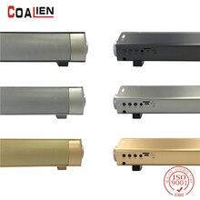 COALIEN 10W Bluetooth Speaker Wireless Portable Subwoofer Soundbar Super Bass Loudspeaker for Home Theater TV iPhone TF