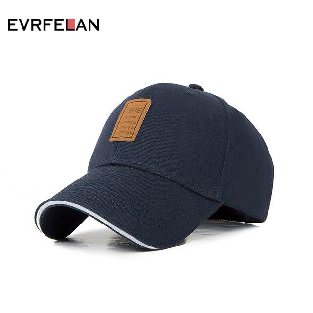 Evrfelan Primavera Verano gorra de béisbol de algodón hombres y mujeres  sombrero de moda Snapback gorra 70326288cc9