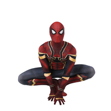 ФОТО avenger 2018 infinity war spider man costume homecoming iron spiderman cosplay outfit kids adult 3d print spandex zentai suit
