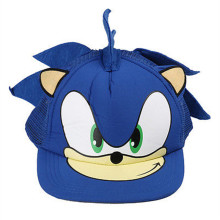 Fashion Sonic hip hop Cosplay Snap back Adjustable flat Cartoon hat