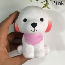 Kawaii Puppy Dog font b Doll b font Jumbo 11CM Slow Rising Animal Kids New Year