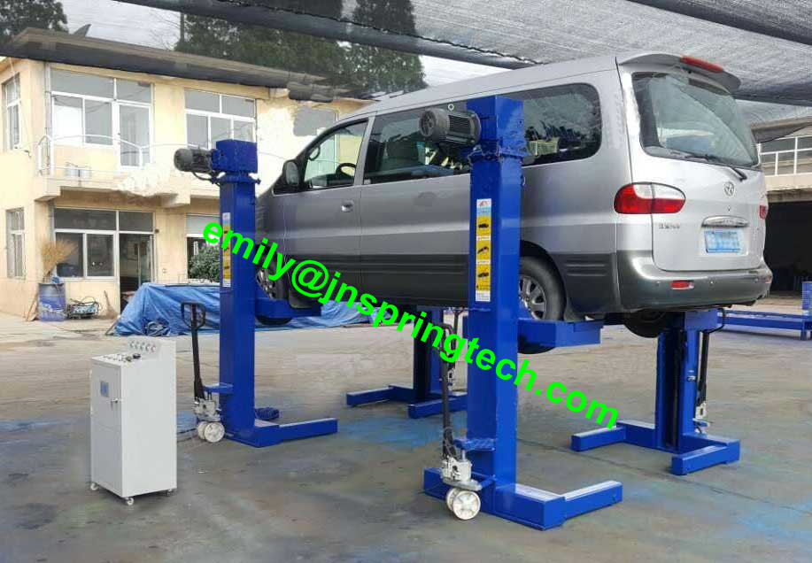 Big Load Movable Car Hoist Lift Jack 10t 12t Mobile Car Lift In