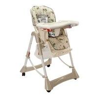 Универсальный Детский обеденный стульчик и стол, складной, портативный, детский стульчик для кормления, Экологичный пластик