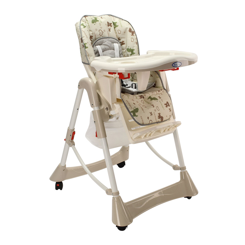 Multifunction Baby Dining High Chair & Table, Foldable, Portable, Children Feeding Chair, Environmental Plastic