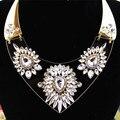 Белые, красивые популярные романтический благородный девушка подарок оптовая позолоченные ожерелья! бесплатная доставка!