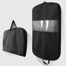 Travel Business Foldable Clothes Cover Suit Storage Hanging Bag with Zipper Garment Coat Jacket Dust Moisture Proof AHC001(China)
