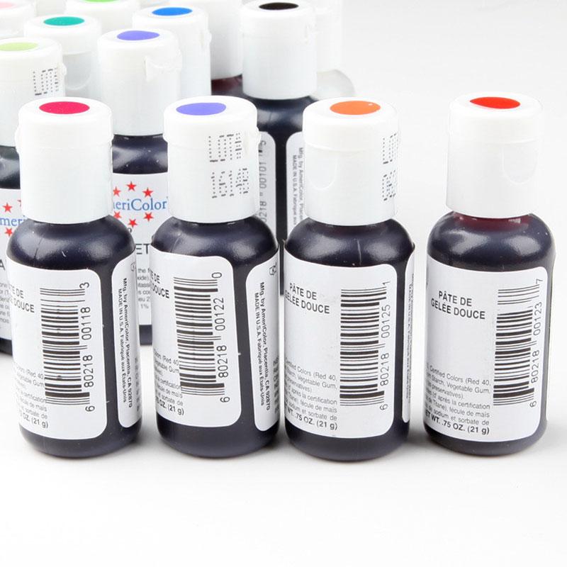 20pcs America Edible Cream Baking Pigment Food Coloring Fondant ...
