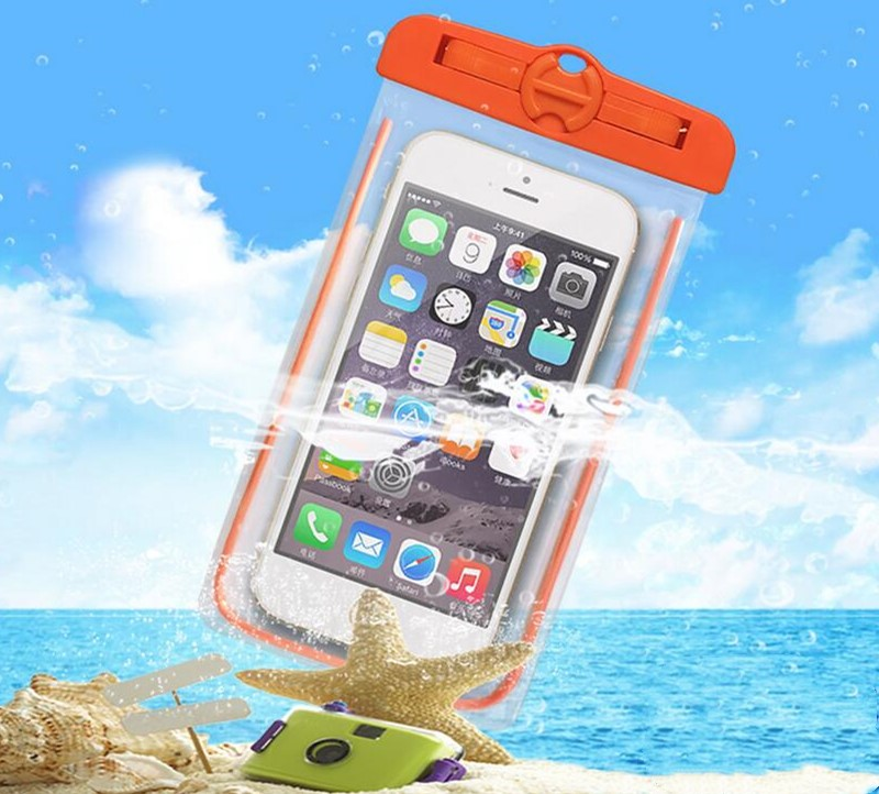 Universal Waterproof Bag Pouch Phone Case For iPhone X 8 7 6 5 Samsung S8 Note 8 Huawei P10 Mate 10 PRO Redmi Water Proof Case