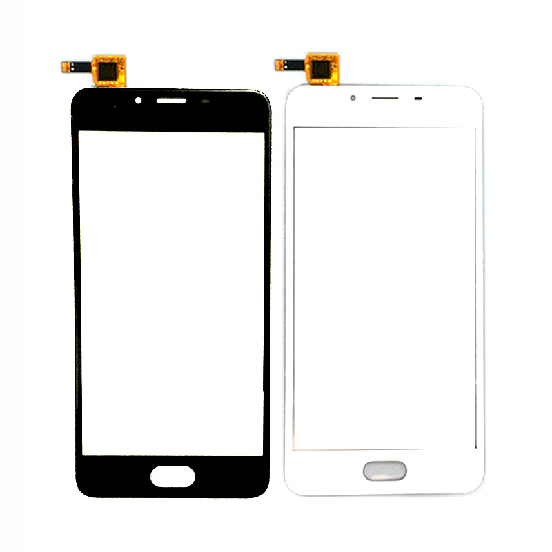 New Screen Glass Replacement for Meizu U10 5.0 Inch Touch Screen Front Outer Glass Panel Repair Part