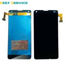 Для Nokia Lumia 550 ЖК-Дисплей с Сенсорным Экраном Дигитайзер Ассамблеи Черный Цвет Замена Части + Инструменты Бесплатная Доставка(China (Mainland))