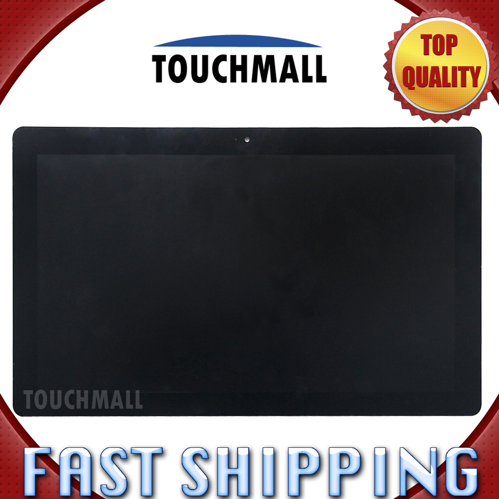 For New LCD Display Touch Screen Digitizer Assembly Replacement Acer Iconia Tab W700 B116HAT03.1 11.6-inch Black Free Shipping new 5 black lcd display glass touch digitizer screen assembly for acer liquid z530 lte t02 replacement
