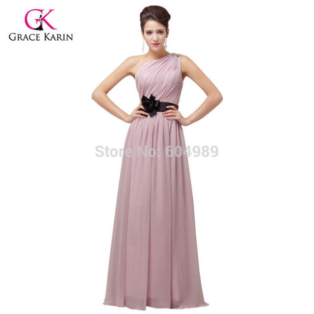 Cheap long Bridesmaid Dresses Purple Pink Yellow Wedding dress 2018 ...