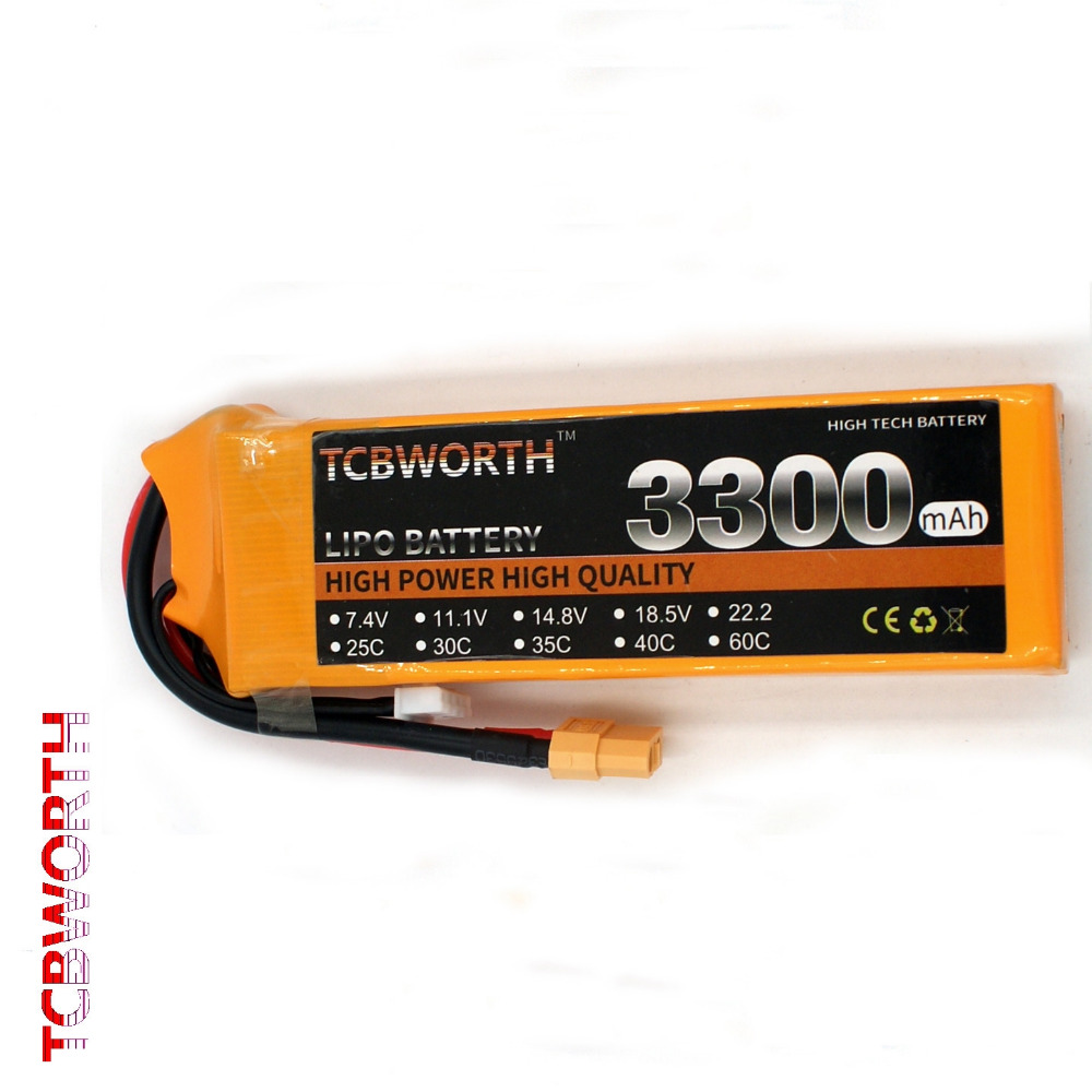 3S 11.1V 3300mAh 35C RC LiPo battery For RC Airplane Helicopter Quadcopter Drone Truck AKKU Li-ion battery