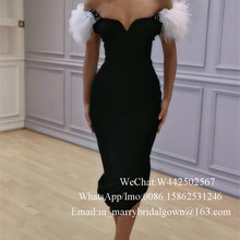 fbc5ad684b8d0 Buy feather dress black and get free shipping on AliExpress.com