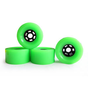 Image 3 - 4pcs Electrical Skateboard Wheel  83mm 90mm 97mm Longboard wheel SHR78A PU Wheels Big Soft Wheels Resistant PU Skateboard Wheels