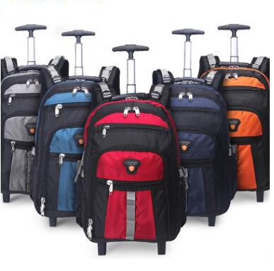 Men Nylon Travel trolley bag wheeled backpack women  Business  Rolling bag Travel trolley Rolling Luggage bag on wheels suitcaseMen Nylon Travel trolley bag wheeled backpack women  Business  Rolling bag Travel trolley Rolling Luggage bag on wheels suitcase