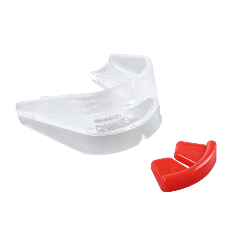 Free Shipping Sport Shield Mouth Teeth Guard Set for Boxing Protection