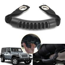 Car Grab Handle For Jeep Wrangler JK YJ TJ 1987-2016 Rugged Ridge Rear Side Car Grab Handle Bar Roll Grips Holder цены онлайн