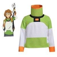 Anime Voltron: Legendary Defender Pidge Shirt Jacket Cosplay Costume Custom Made