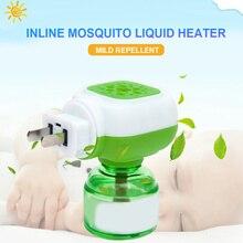 Плагин Электрический Отпугиватель комаров москитная жидкость Электрический сон безопасный Репеллент дома для выведения насекомых нагреватель жидкости
