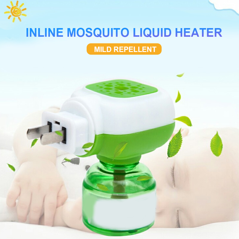 Plug-In Electric Mosquito Repeller Mosquito Liquid Electric Sleep Safety Repellent Home Pest Control Insect Liquid Heater