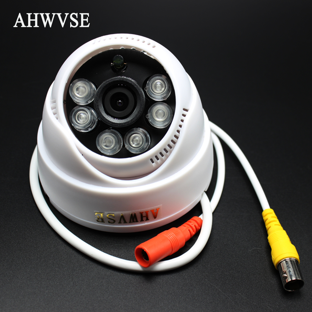 AHWVSE Ultra Low Illumination AHDH 1080P AHD Camera CCTV IR Cut Filter Indoor IR Dome Mini Camera 960P 720P HD 1080P 3.6mm Lens