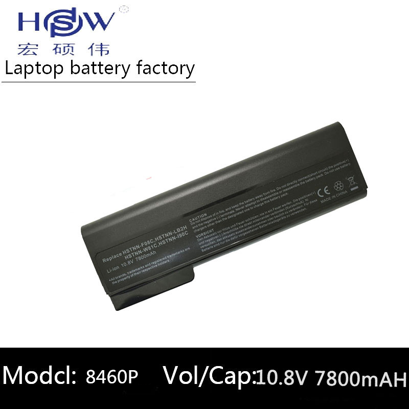HSW Laptop <font><b>Battery</b></font> For <font><b>Hp</b></font> ProBook 6460b 6470b 6560b 6570b 6360b 6465b 6475b 6565b <font><b>EliteBook</b></font> 8460p 8470p 8560p 8460w 8470w <font><b>8570p</b></font> image