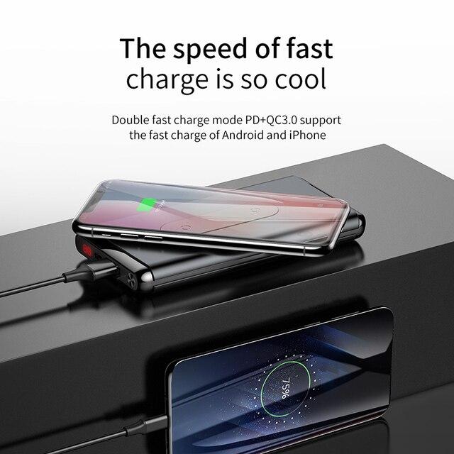 Portable Qi Wireless Power bank  4