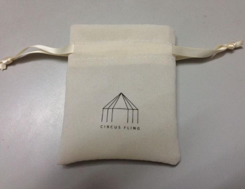c4b5d99448ca0 ᗕCBRL de bijoux cordon de velours sac pour cadeaux bracelet ...