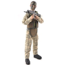 Brinquedo Figura de Ação 1/6 Soldados Militares SWAT Soldado Uniforme Militar Conjunto Militar Modelo Brinquedos Figuras com Caixa Quente