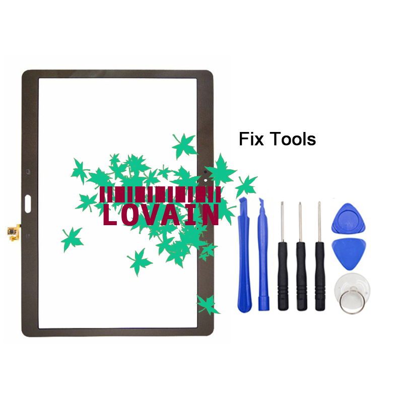 LOVAIN 1PCS (Tested) For Samsung Galaxy Tab S 10.5 T800 T805 Front Glass Lens 10.5 Digitizer Touch Screen LCD Outer Panel+Tools srjtek 10 5 for samsung galaxy tab s t800 t805 sm t800 sm t805 touch screen digitizer sensor glass tablet replacement parts