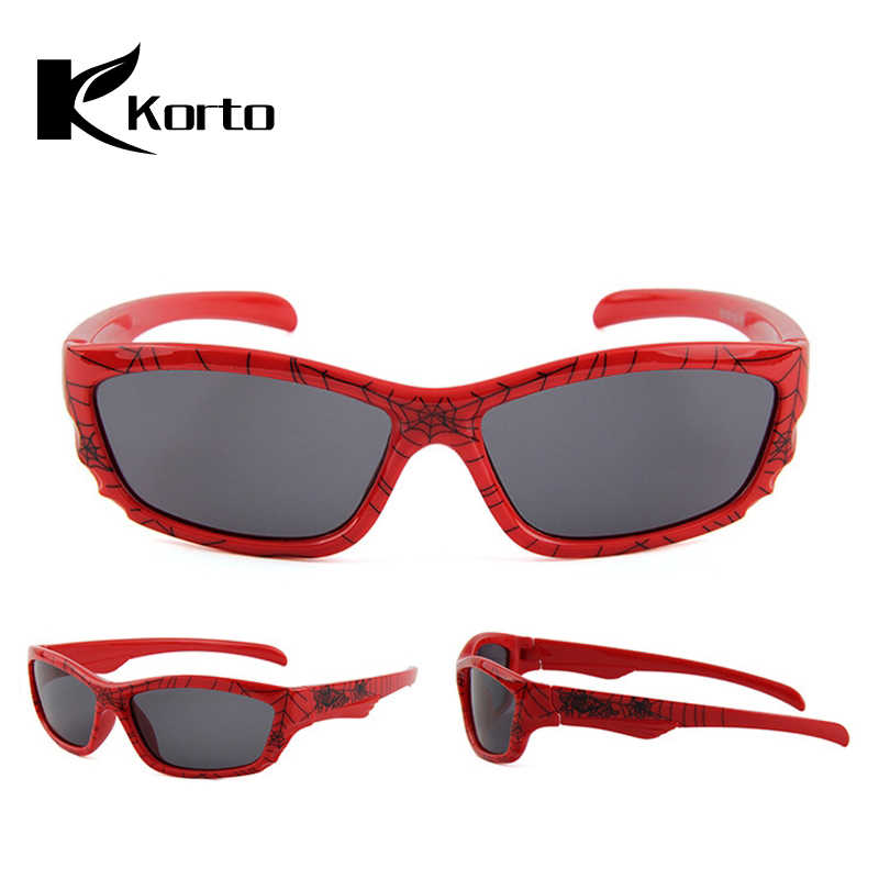 e78a71f8486c Oculos Infantil Kids Polarized Spiderman Sunglasses Soft Children  Eyeglasses Sun Glasses for Child Cool Boys Shades