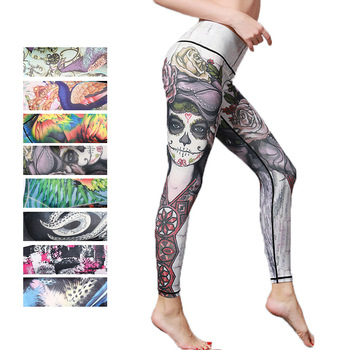 Women Printed Yoga Pants Sport Workout Running Leggings Power Flex Leggins Sport Women Fitness Yoga Leggings