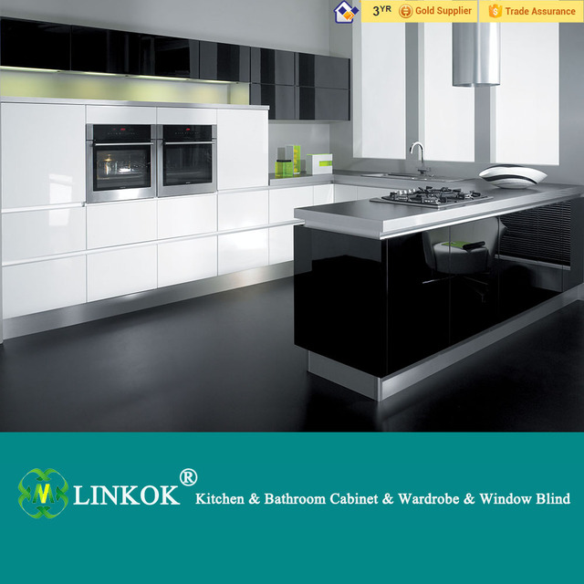 Linkok Muebles de cocina gabinete de cocina de madera colgante de ...