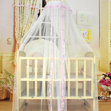 Baby Bed Mesh Dome Curtain Mosquito Net Durable Toddler Crib Cot Canopy Bed Net(China)
