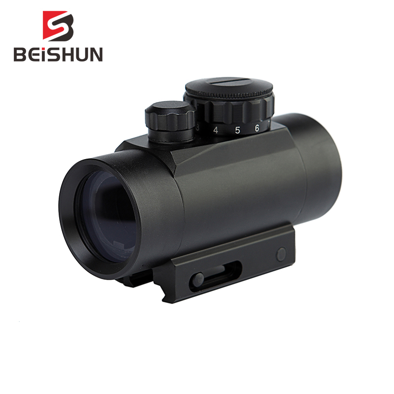 Red Green Dot Scope 1X30 Tactical Hunting Holographic Sight For Shot Gun Airsoft 20mm Rail Mount Riflescopes Hunting Optics