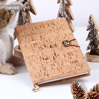 Never Christmas A5 Notebooks And Journals Faux Leather Cover Planner Diary Book 2019 New Year Gift Office And Office Supplies