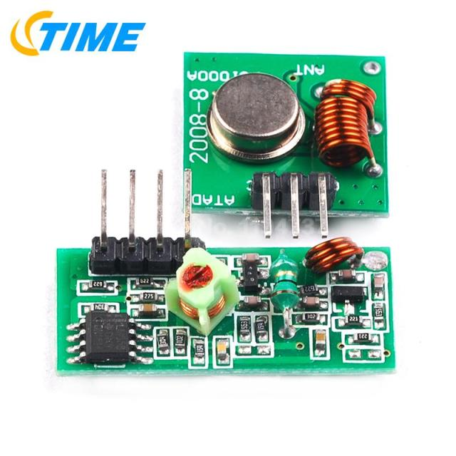 5pair =10pcs RF wireless receiver module & transmitter module board for arduino super regeneration 315/433MHZ DC5V (ASK /OOK)