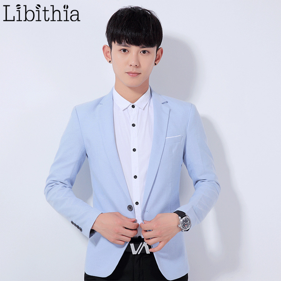 Compare Prices on Mens Light Blue Blazer- Online Shopping/Buy Low ...
