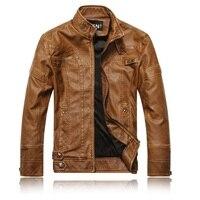 Free Shipping 1pcs NEW Fashion Men S Leather Motorbike Coats Jackets Leather Coat Motorcycle Jacket