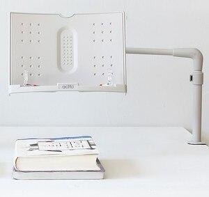 Вращающийся держатель для книг, многофункциональная Регулируемая подставка для чтения книг, офисный Настольный держатель для файлов
