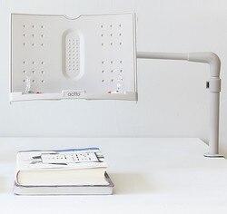 Soporte rotativo para libros, soporte ajustable multifuncional para lectura de libros, archivador de escritorio de oficina