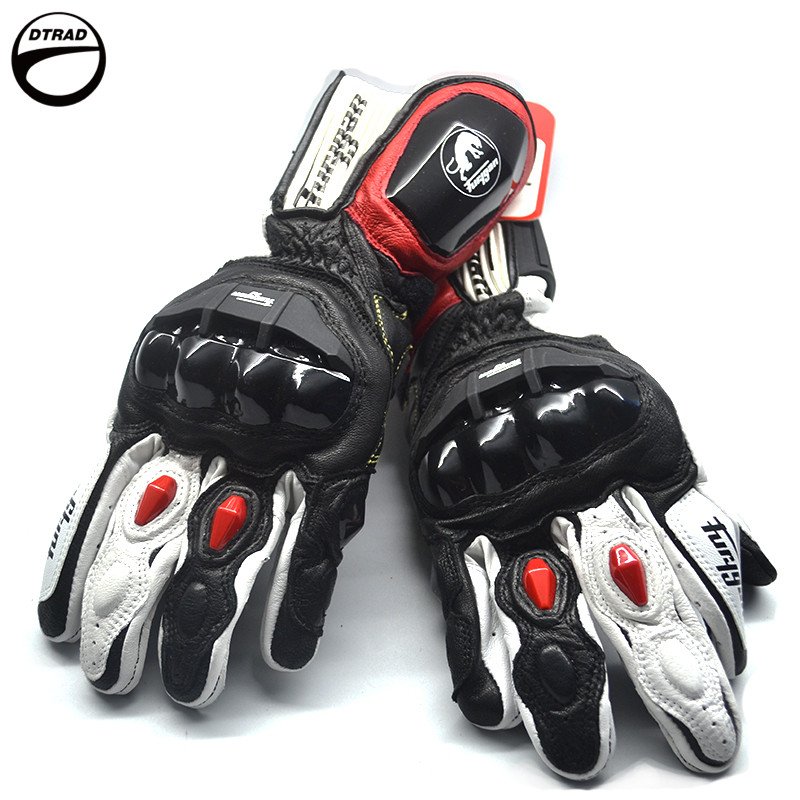 a054fbf2b41 New Motorcycle Racing Knight Leather Glove ANTS AFS18 Bicycle Touch Screen  Furygan Gloves