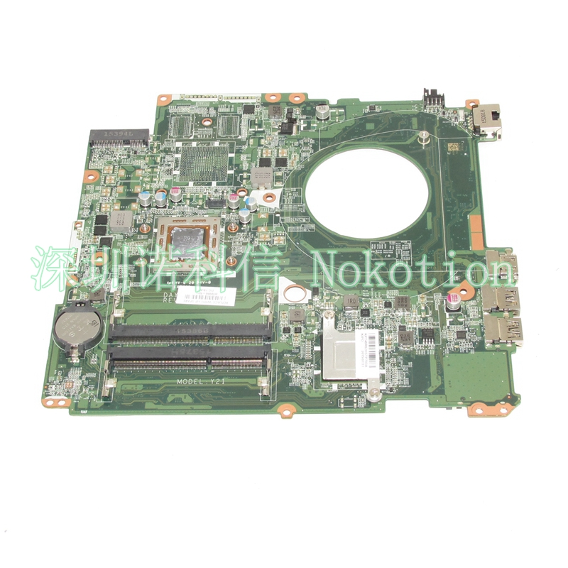 NOKOTION 809986-601 809986-001 Laptop Motherboard For HP Pavilion 17-P DAY21AMB6D0 A10-7050M CPU DDR3 Mainboard Full WORKS nokotion 646176 001 laptop motherboard for hp cq43 intel hm55 ati hd 6370 ddr3 mainboard full tested