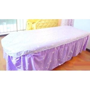 Image 5 - 10 pezzi di tessuto Non tessuto Usa E Getta Lettino Da Massaggio Copriletto Letto Copertura Impermeabile Bianco