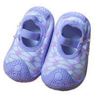 Baby Socks With Rubber Soles Kids Toddler Girls Baby Anti Slip Sock Boots Slipper Shoes First