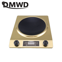 DMWD Electric induction cooker Waterproof 3000W High power Concave Stove Hotpot cooker intelligent Mini hot pot Cookware EU plug