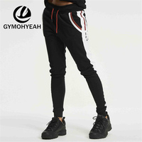 GYMOHYEAH Spring And Summer New Mens Jogger 2018 Brand Bodybuilding Male Trousers Men Pants Jogger Man