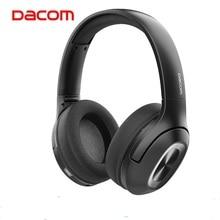 Dacom hf002 bluetooth v5.0 fones de ouvido sobre a orelha fone de ouvido 1200 mah sem fio bluetooth fone baixo cabeça telefone para o telefone portátil